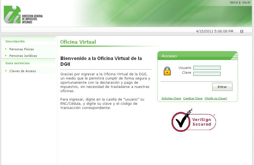 Servicio virtual para verificar si es beneficiario de la for Oficina virtual sepecam